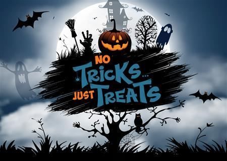 NO TRICKS JUST TREATS