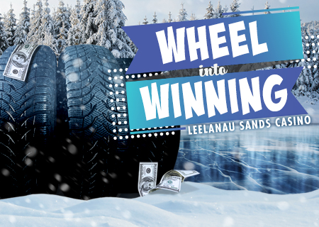 WHEEL INTO WINNING!